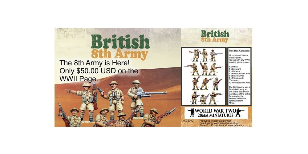 28mm WW2 Miniatures