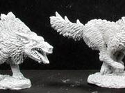 02897 Reaper Miniatures Hell Hounds (x2)